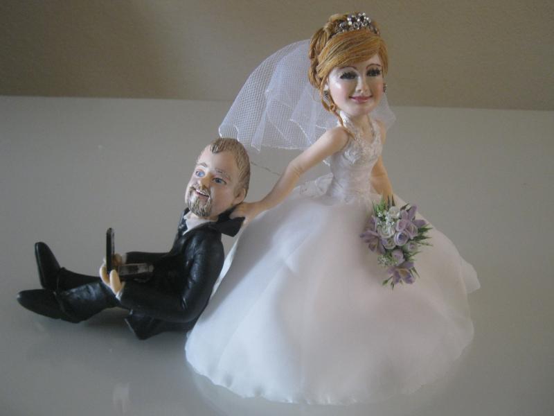 figurines personnaliseswedding cake toppers - Figurine Mariage Personnalise